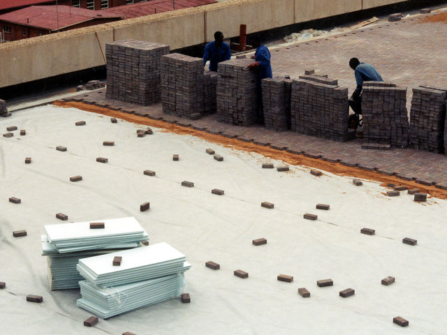 Inverted Roof Isoboard Thermal Insulation South Africa